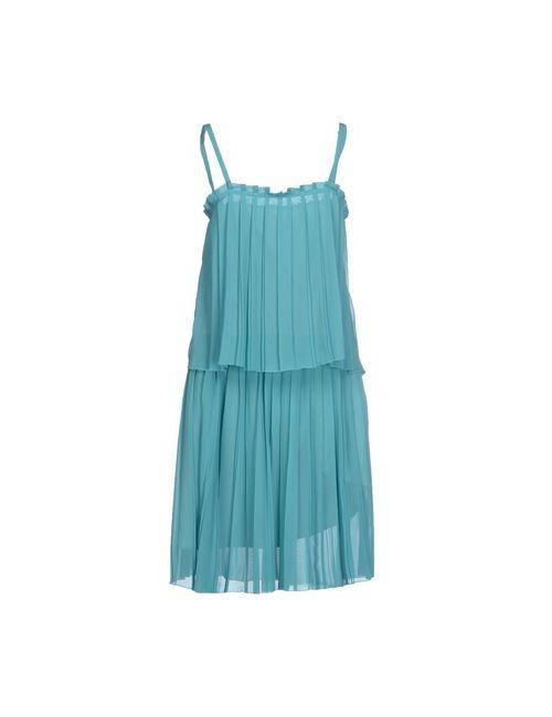 COAST WEBER & AHAUS | Женское Бирюзовое Платье До Колена