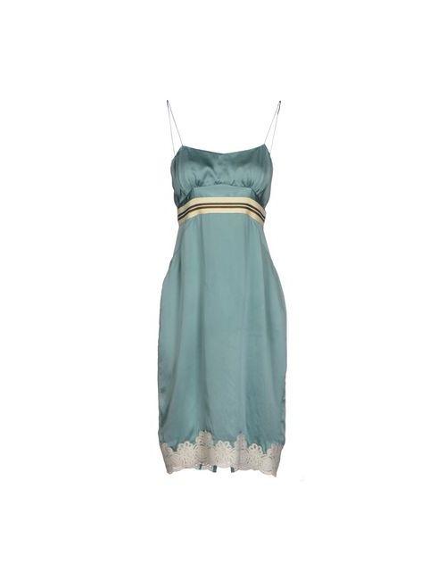 COAST WEBER & AHAUS | Женское Голубое Платье До Колена