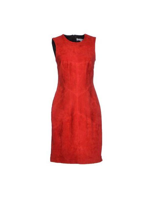Amaya Arzuaga | Женское Красное Платье До Колена