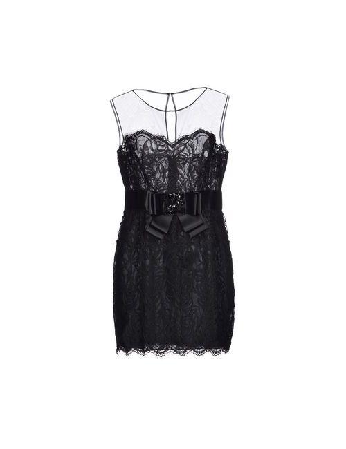 Zuhair Murad | Женское Чёрное Короткое Платье