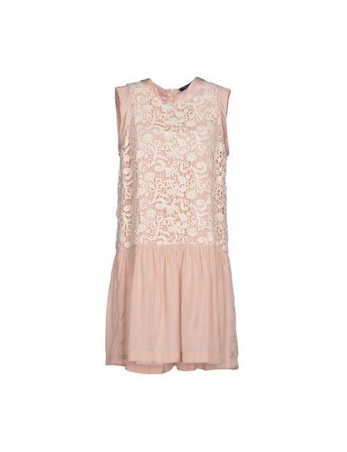 French Connection | Женское Розовое Короткое Платье