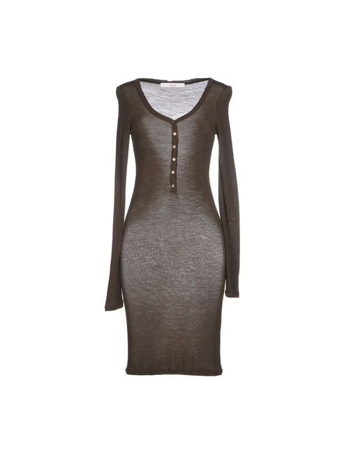 Jucca | Женское Хаки Короткое Платье