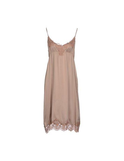 .Tessa | Женское Серое Платье До Колена