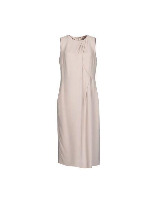 Giorgio Armani | Женское Серое Платье До Колена