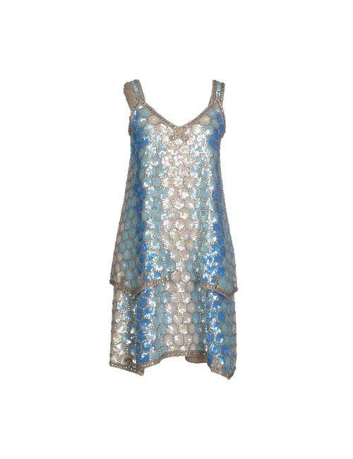 Maison Margiela | Женское Лазурное Короткое Платье