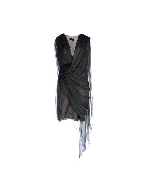 Lanvin | Женское Зелёное Короткое Платье