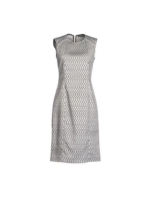 Innamorato | Женское Белое Платье До Колена