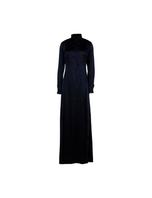 Bikkembergs   Женское Синее Длинное Платье