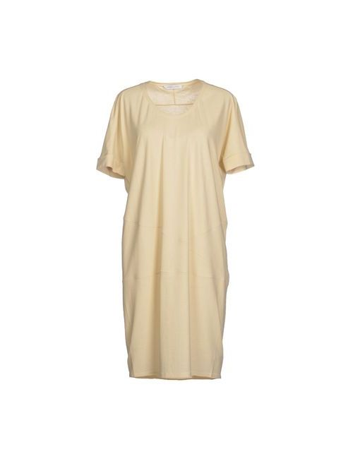 Lamberto Losani | Женское Бежевое Короткое Платье