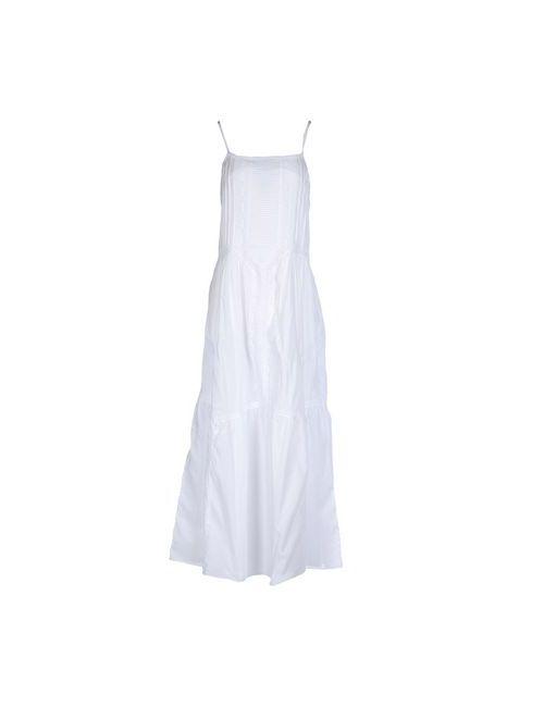 Paul & Joe Sister | Женское Белое Длинное Платье