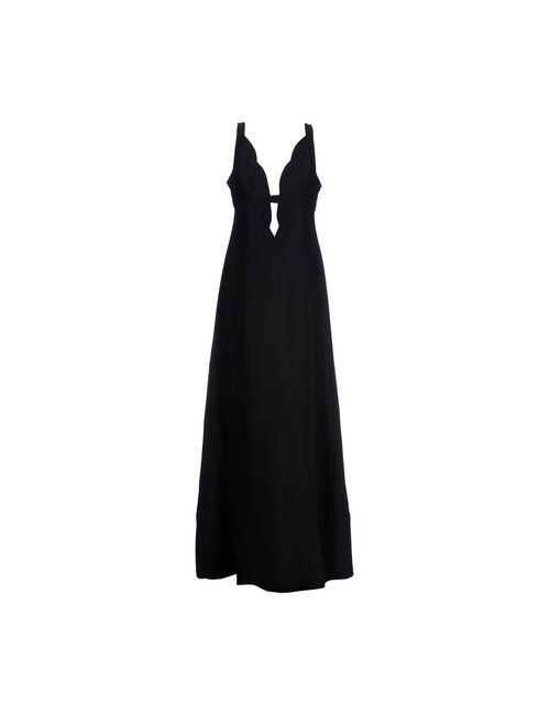 Valentino   Женское Черный Длинное Платье