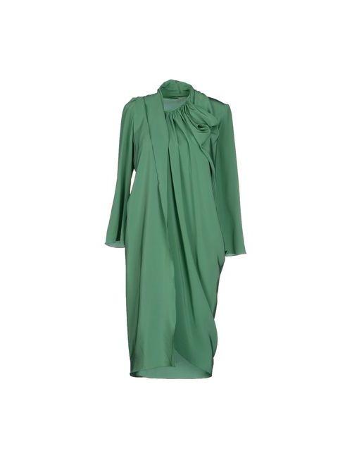 CORTANA | Женское Зелёное Платье До Колена