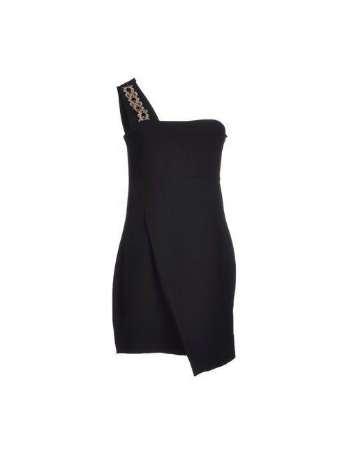 Please | Женское Чёрное Короткое Платье