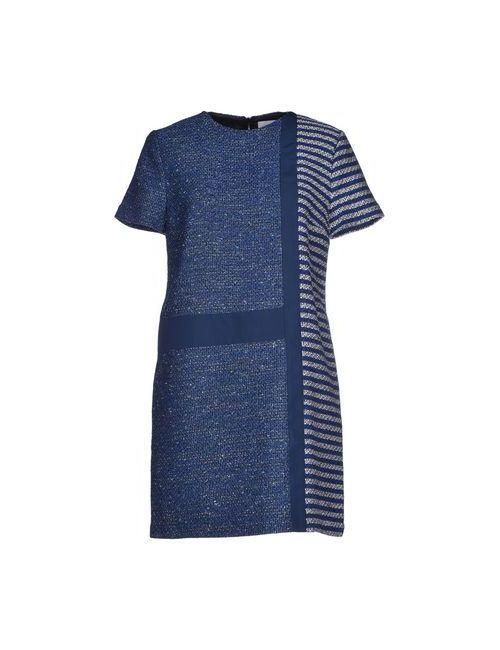 SI-JAY | Женское Синее Короткое Платье