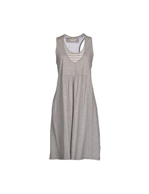 Almeria | Женское Серое Короткое Платье