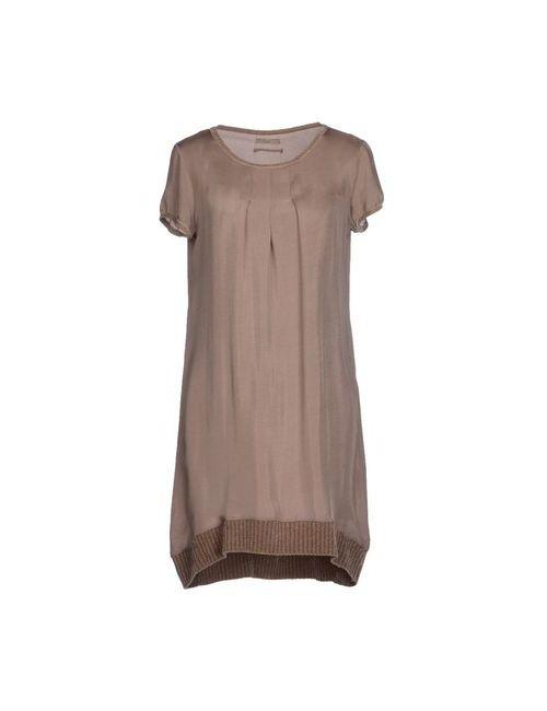 Almeria | Женское Хаки Короткое Платье
