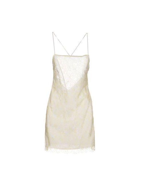 Alessandro Dell'Acqua | Женское Жёлтое Короткое Платье