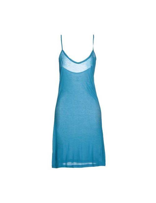 Majestic | Женское Лазурное Короткое Платье