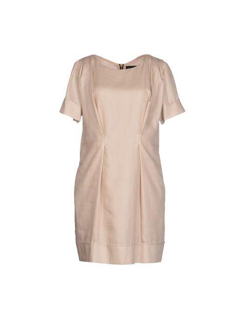 Patrizia Pepe | Женское Бежевое Короткое Платье