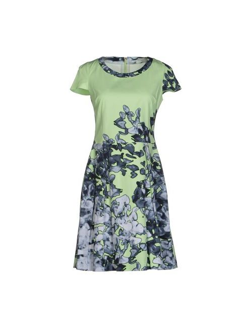 Blue Les Copains   Женское Зелёное Короткое Платье