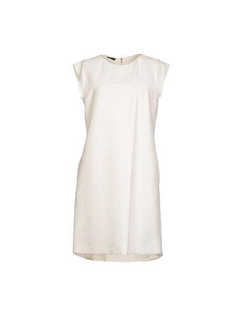Les Copains | Женское Белое Короткое Платье