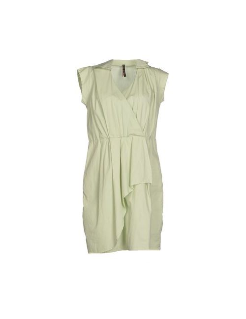 Manila Grace   Женское Зелёное Короткое Платье