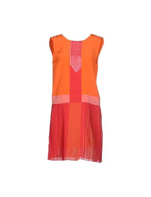 Marco Bologna | Женское Оранжевое Короткое Платье