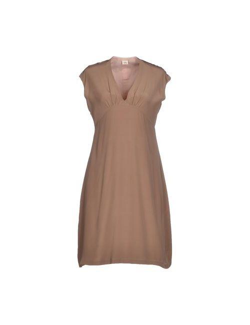 Siyu | Женское Серое Короткое Платье