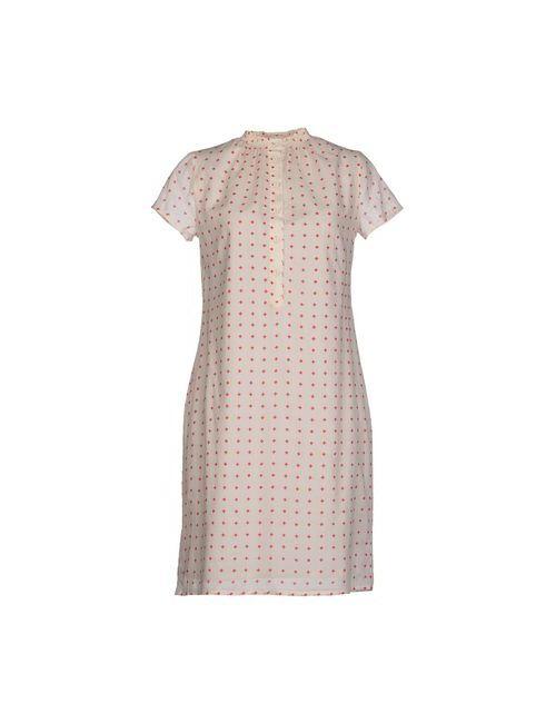 Siyu | Женское Белое Короткое Платье