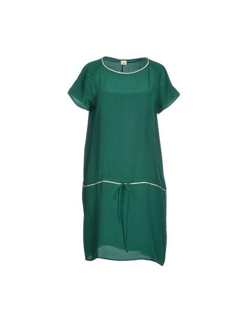 Siyu | Женское Зелёное Короткое Платье