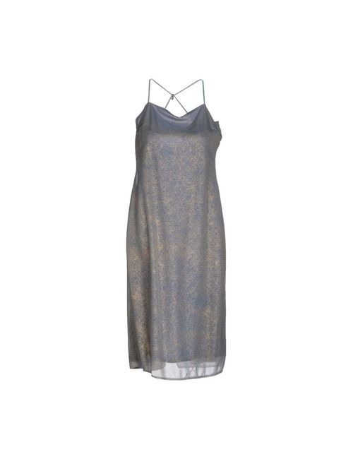 Diana Gallesi | Женское Синее Платье До Колена