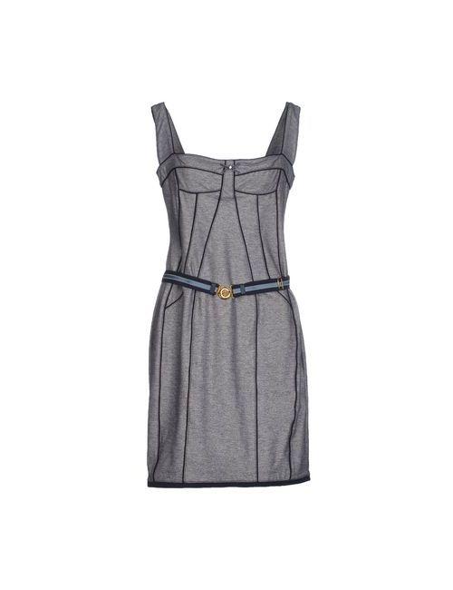 Vdp Collection | Женское Серое Короткое Платье
