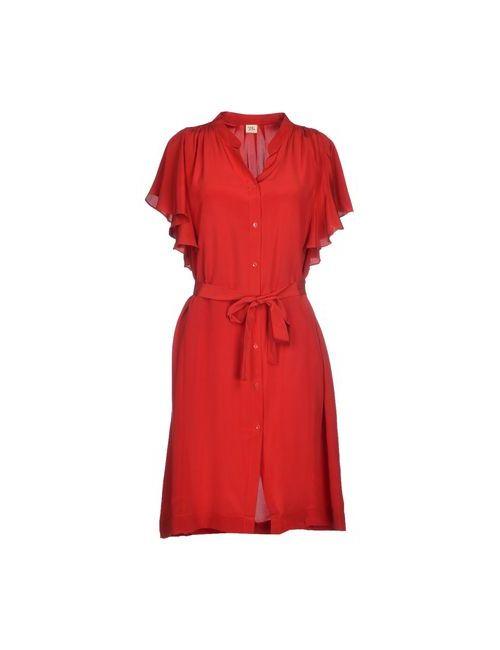 Siyu | Женское Красное Короткое Платье