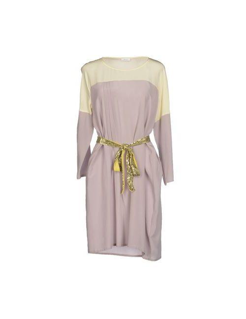 Gold Case | Женское Серое Короткое Платье