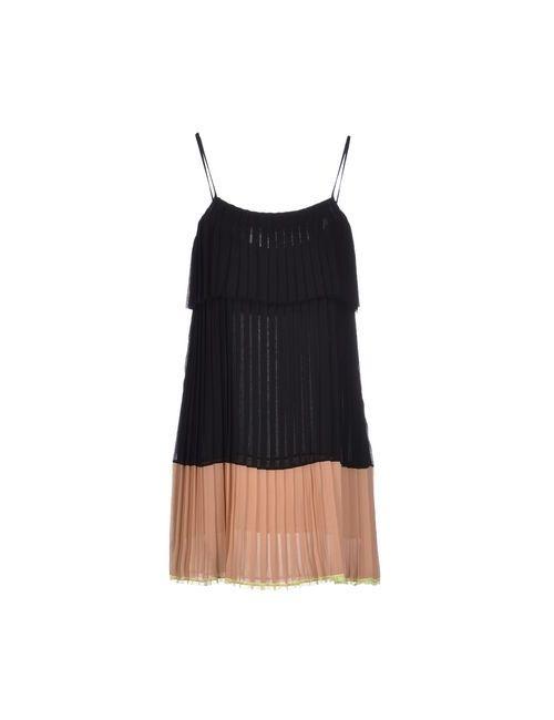 Gold Case | Женское Черный Короткое Платье