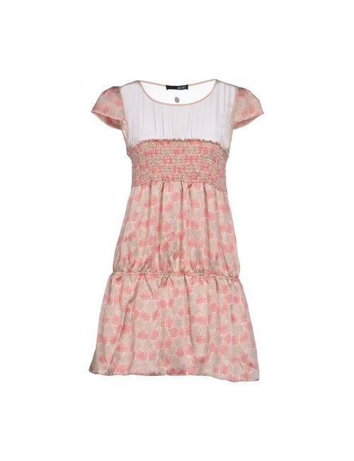 Liu •Jo   Женское Розовое Короткое Платье
