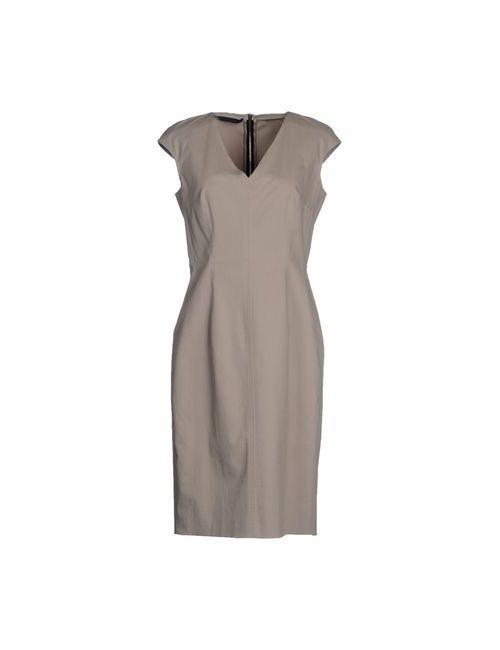 Les Copains | Женское Бежевое Короткое Платье