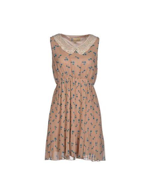 Lovestruck   Женское Бежевое Короткое Платье