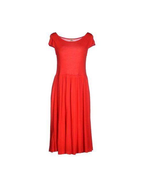 Siyu | Женское Красное Платье До Колена