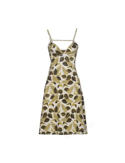 Just Cavalli | Женское Зелёное Короткое Платье
