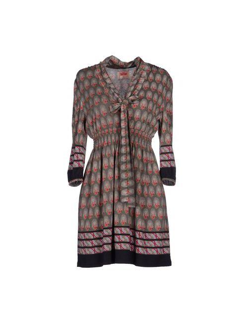 Orion London   Женское Серое Короткое Платье