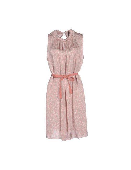 Almeria | Женское Розовое Короткое Платье