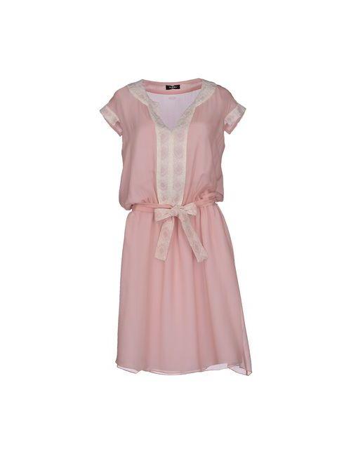 Byblos | Женское Розовое Короткое Платье