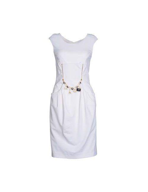 Vdp Collection | Женское Белое Короткое Платье