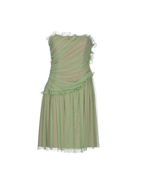 Sooz By Isabel C. | Женское Зелёное Короткое Платье