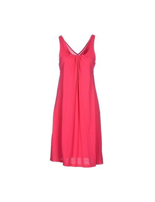 LUCIDEZ | Женское Фуксия Платье До Колена