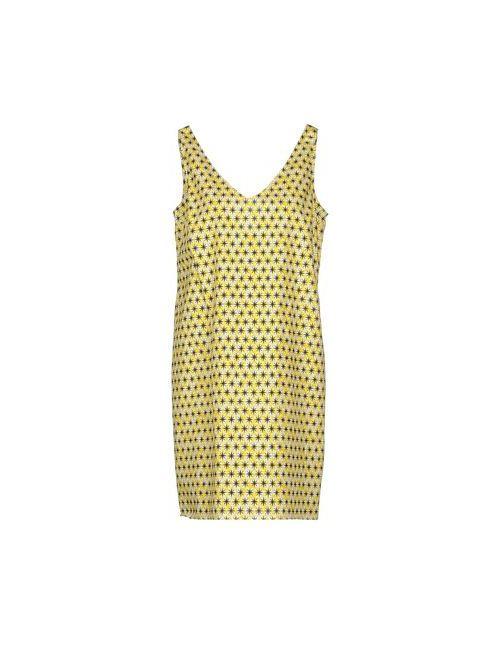 Marni | Женское Жёлтое Короткое Платье