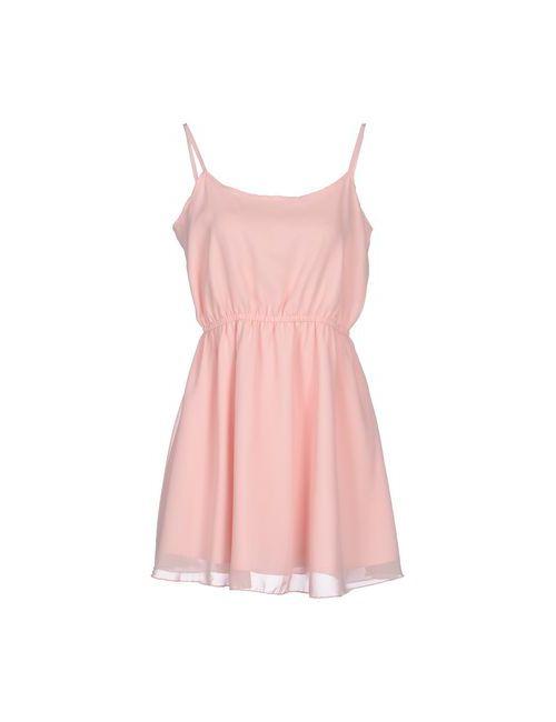 Rare London | Женское Розовое Короткое Платье