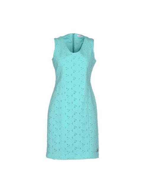 Blugirl Folies | Женское Зелёное Короткое Платье