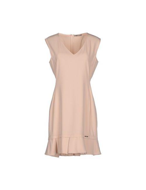 Toy G. | Женское Розовое Короткое Платье